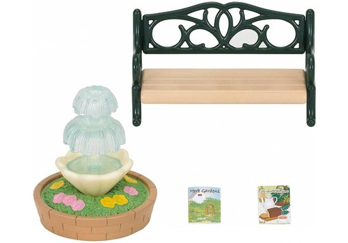 Sylvanian Families Sylvanian Families Bench & Fountain