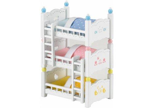 Sylvanian Families Sylvanian Families Triple Bunk Beds