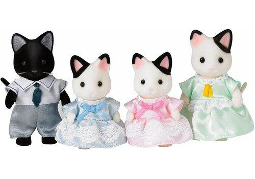 Sylvanian Families Sylvanian Families Tuxedo Cat Family