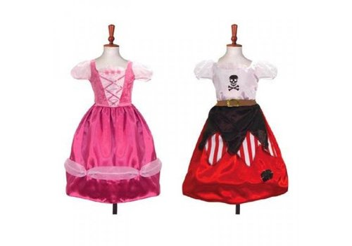 Travis Designs Travis Designs Reversible Costume  Princess/Pirate 6 to 8 years