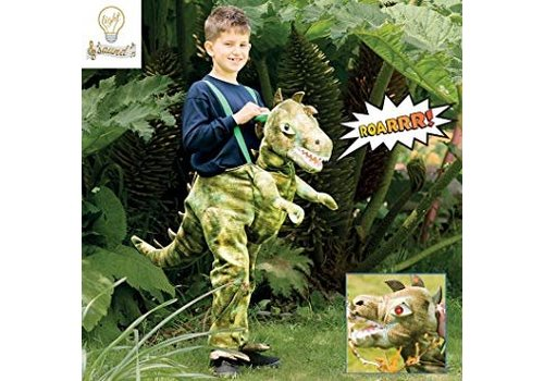 Travis Travis Ride on Dinosaurus with  Light and Sound 6 - 8 years