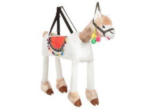 Travis Travis Ride on Llama
