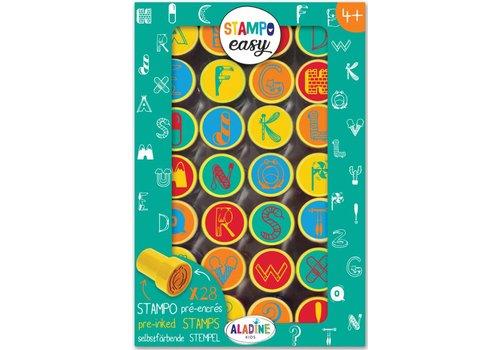 Aladine Aladine Stampo Easy Alfabet