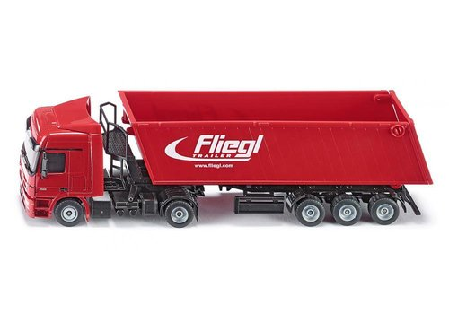 Siku Siku Vrachtwagen met Kiepwagen en Kantelbak