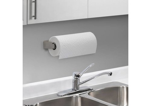 Umbra Umbra Mountie Shelf Cab Paper Towel Holder Nickel