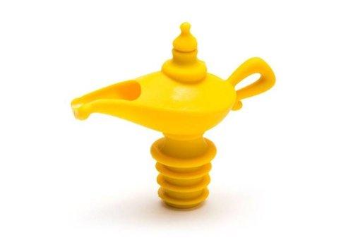 Peleg Design Peleg Design Oiladdin - Pourer & Stopper - Yellow
