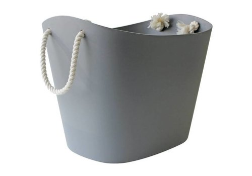 Hachiman Hachiman Balcolore Bucket Large -  Soft grey