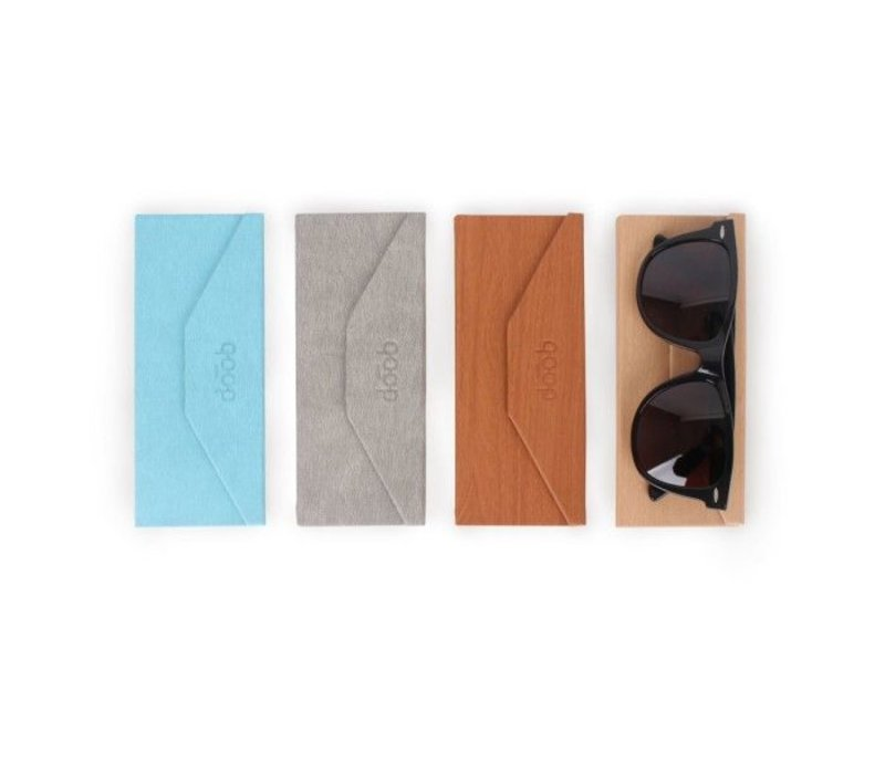 Alife QP Foldable Glasses Case Light Wood