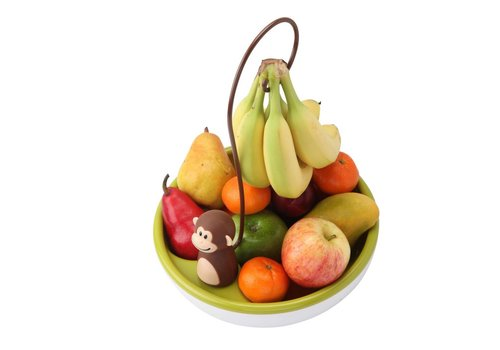 Cookut Joie Monkey Fruit Bowl with Bananaholder