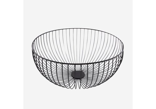 Point-Virgule Point Virgule Wire Basket Black