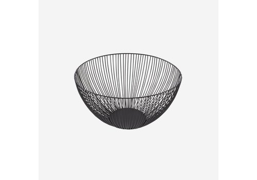 Point-Virgule Point Virgule Wire Basket Black 25cm