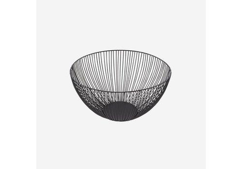 Point-Virgule Point Virgule Wire Basket Black