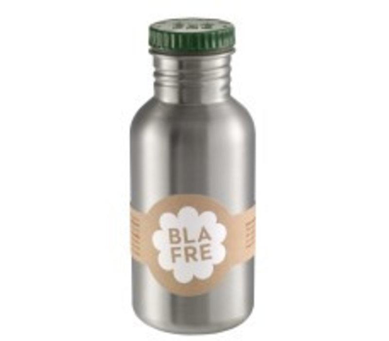 Blafre Drinkfles RVS Groen 0,5 L