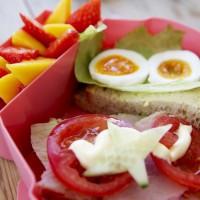 Blafre Lunchbox Uil Licht Groen