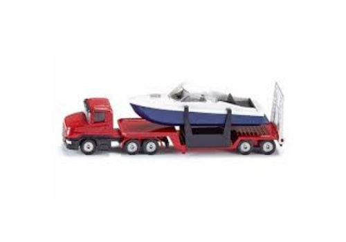 Siku Siku Low Loader with Boat