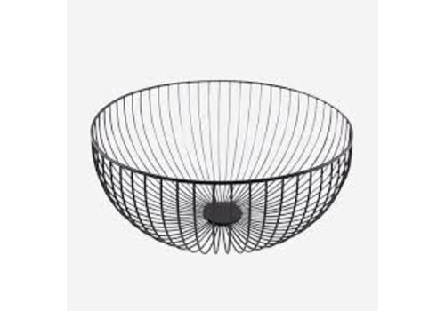 Point-Virgule Point Virgule Wire Basket Black  Large 35 cm