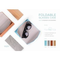 Alife QP Foldable Glasses Case Blue