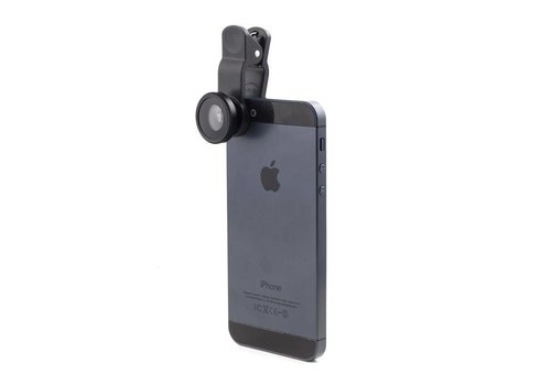 Kikkerland Kikkerland Smartphone/Tablet Clip Lens Kit S/3