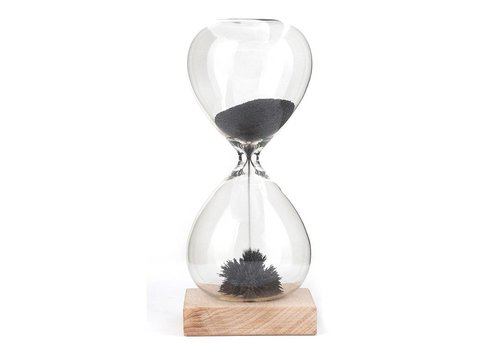 Kikkerland Kikkerland Hourglass Magnetic Sand