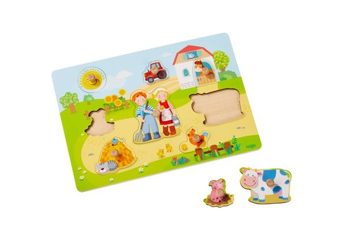 Haba Haba Clutching Puzzle On the Farm