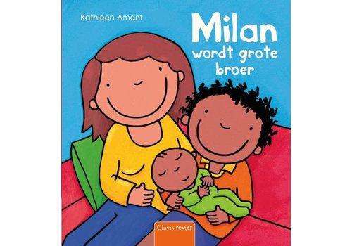 Clavis Clavis Leesboek  Milan Wordt Grote Broer