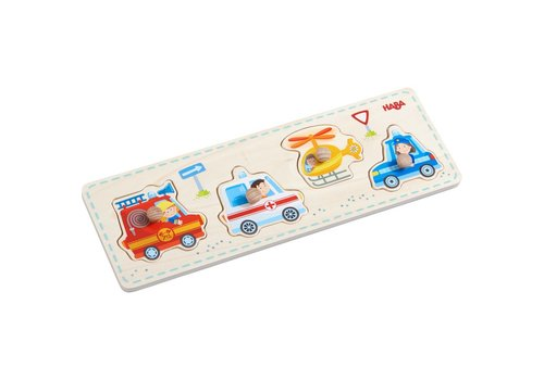 Haba Haba Clutching Puzzle Rescue Vehicles