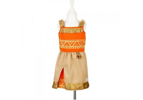 Souza! Souza! Leoti indian dress 5-7 years