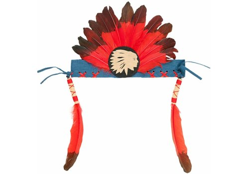 Souza! Souza! Anoki Indian Headband Red/Green