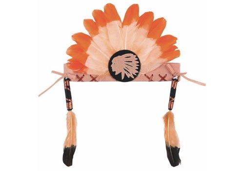 Souza! Souza! Anoki Indian Headband Orange