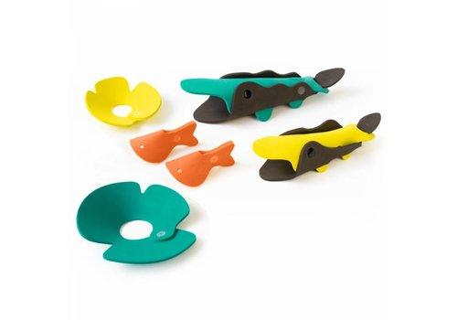 Quut Quutopia 3D Badpuzzel Set Crocodile River