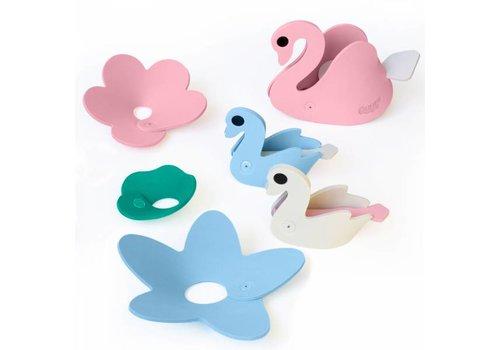 Quut Quutopia 3D Bath Puzzle Set Swan Lake