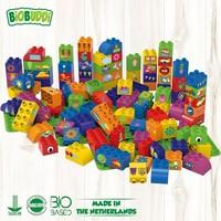 Biobuddi Blokken 100 st met 3 Basisplaten