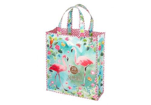 Souza! Souza! Shopper Bag Flamingo