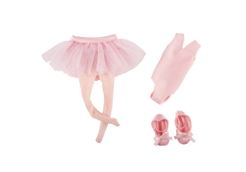 Kruselings Kruselings Ballet Lesson Outfit for Doll Vera