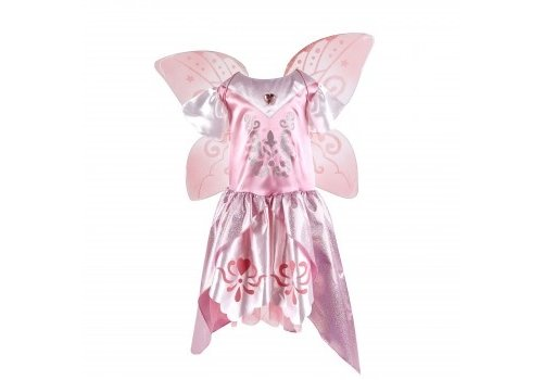 Kruselings Kruselings Vera Magic Costume  & Wings 5 - 6 years