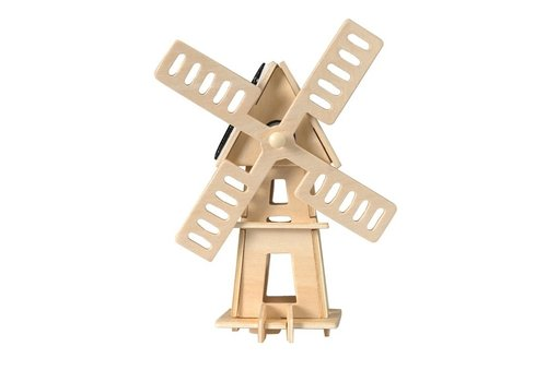 Egmont Toys Egmont Toys Maak Je Eigen 3D Windmolen met Zonnepanelen