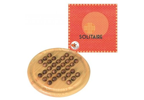 Egmont Toys Egmont Toys Wooden Solitaire Board Game