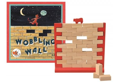 Egmont Toys Egmont Toys Wooden Parlor Game Wobbling Wall