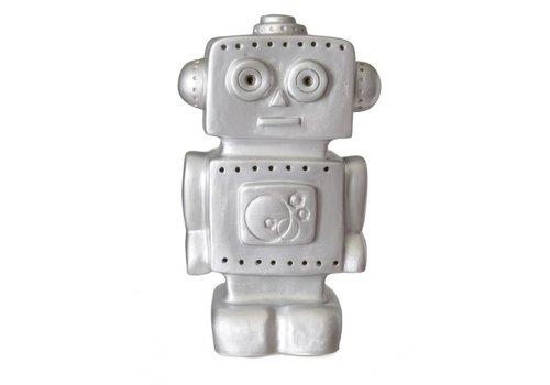 Heico Heico Lamp Silver Robot