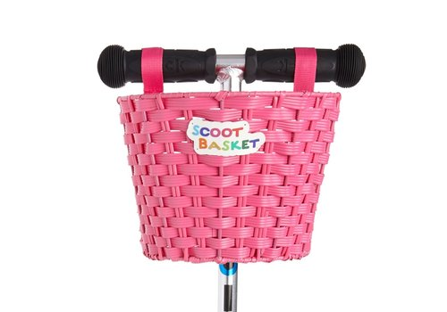 Scootaheadz Scoot Basket Pink