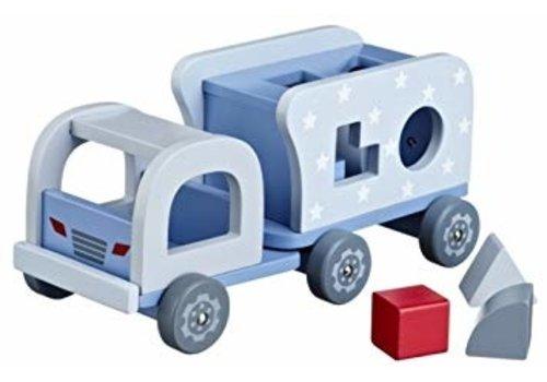 Kids Concept Kids Concept Houten Vrachtwagen & Vormenspel