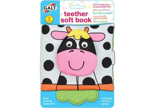 Galt Galt Teether Soft Book Farm