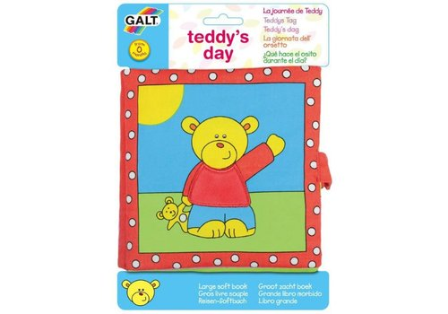 Galt Galt Soft Book Teddy's Day
