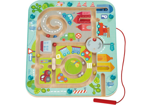 Haba Haba Magnetic Game Town Maze
