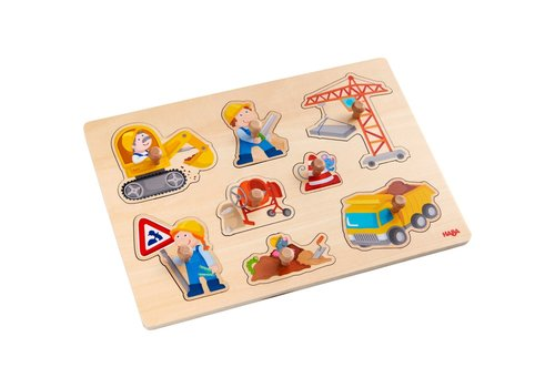 Haba Haba Clutching Puzzle World of Construction