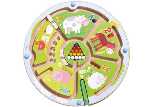 Haba Haba Magnetic Game Number Maze