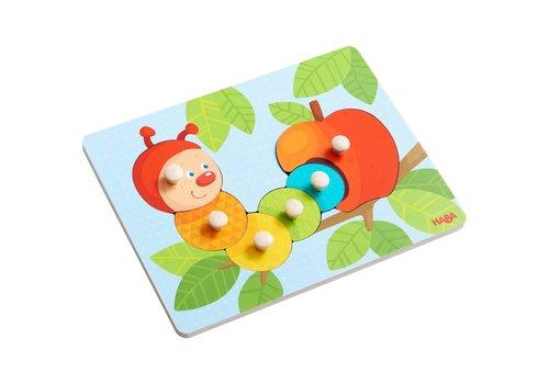 Haba Haba Clutching Puzzle Caterpillar Mina