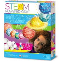 4M Steam: Powered Girls Solar System With Light