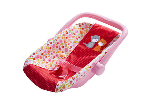 Haba Haba Doll's Baby Car Seat Flower Meadow