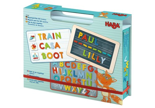 Haba Haba Magnetic Game Box ABC Expedition